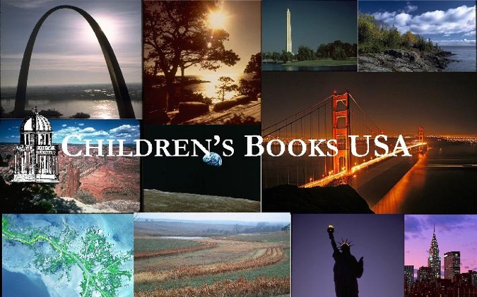 Children's Books USA Collage